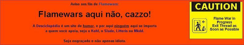Flamewar desciclope.jpg