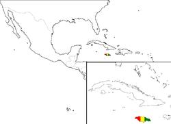 ジャマイカの位置