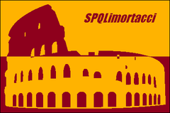 Flag of Rome with Colosseum's icon.png