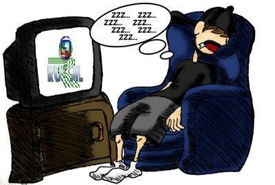Pessoas que dormem assistindo a TV - Desciclopédia