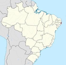 Localização de República de Pernambuco Futebol Clube