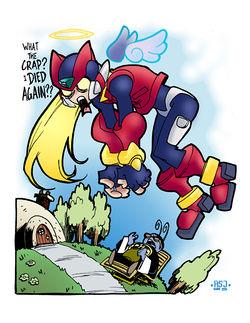 Zero (Megaman Zero) - Desciclopédia