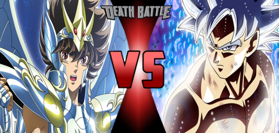 Seiya Vs Goku Anime Desciclopedia