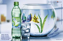 Estrutura química de H2OH!