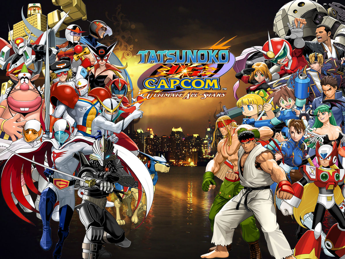 Tatsunoko vs. Capcom: Cross Generation of Heroes - Desciclopédia