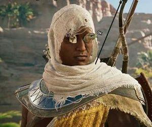 assassins creed origins bayek face
