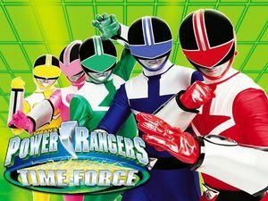 Power Rangers Forca Do Tempo Desciclopedia