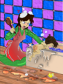 Bath time Spanking by roguebfl.png